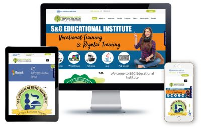 S&G Institute, this website develop by SoftWeb Development Technologies