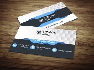 softweb development technologies portfolios for Demo Business Card