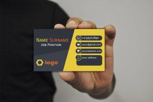 softweb development technologies portfolios for Demo Business Card2