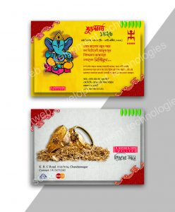 softweb development technologies portfolios for Bengali New Year Card Design