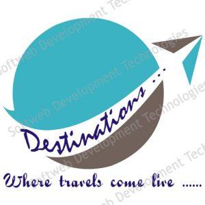 softweb development technologies portfolios for Destinations Logo