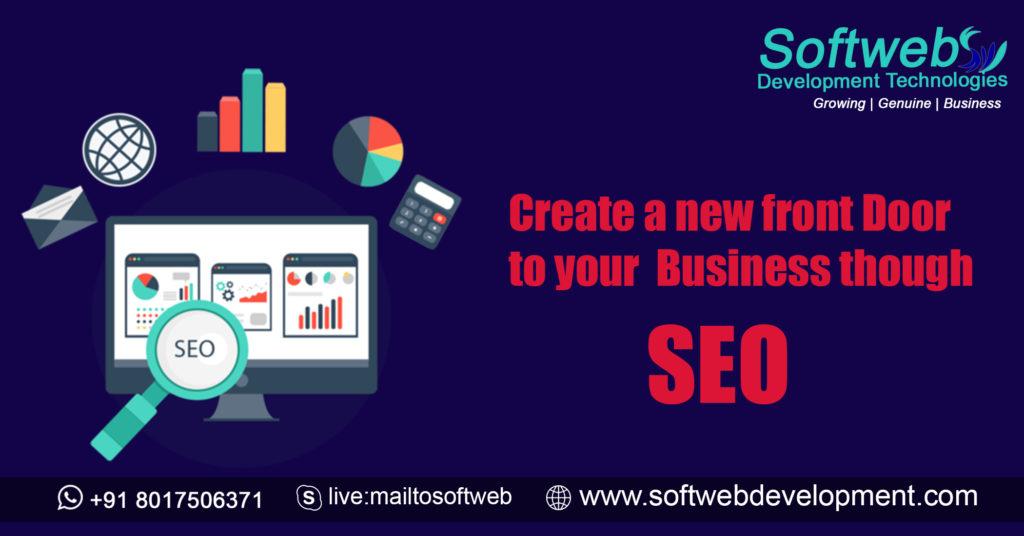 Create New Front Door of Your Business, SEO