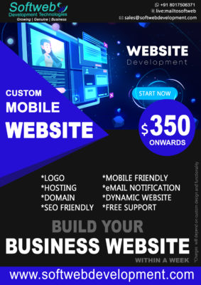 Mobile Website Now $350