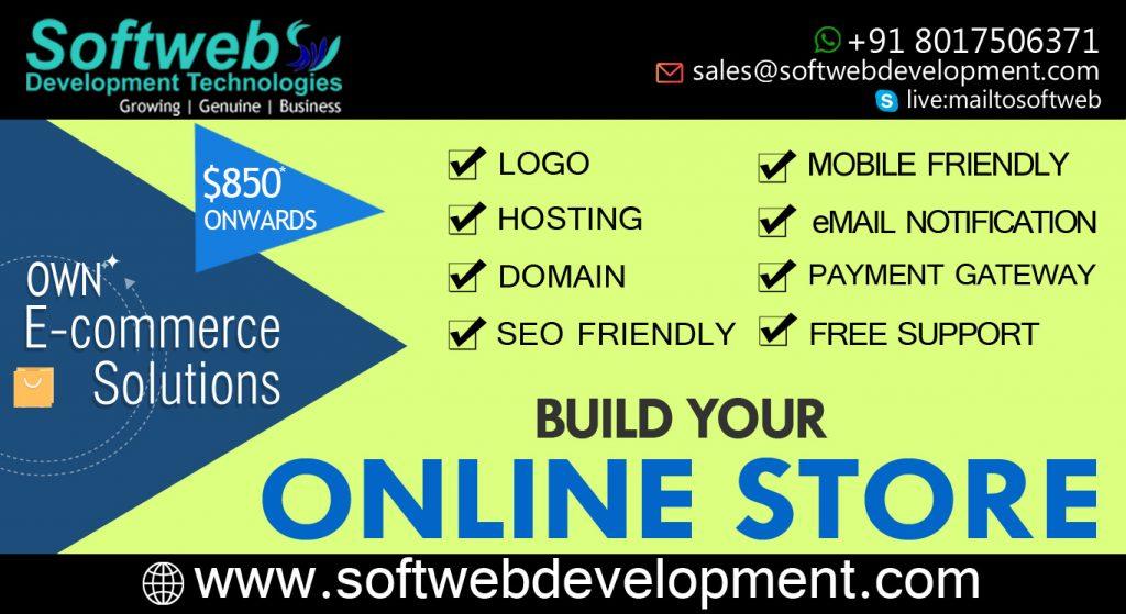 Own e-commerce Website